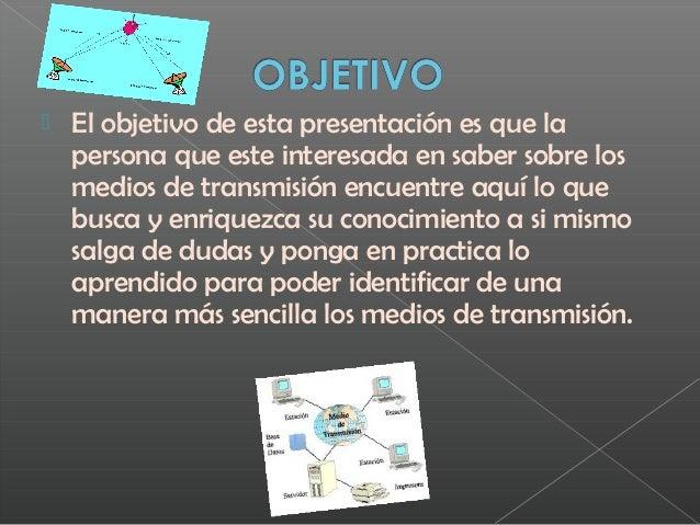 3.- Medios de transmisión Slide 2