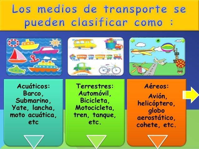Es el transporte que se realiza por la superficie terrestre y por lo general se utilizan ruedas para deslizarse.