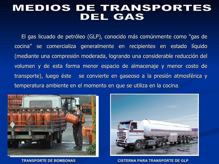 Medios De Transportes De Gas
