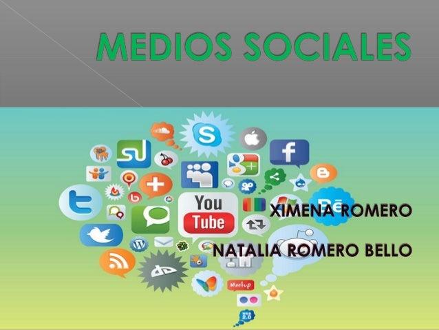  Losmedios de comunicación socialeso simplementemedios sociales(social mediaeninglés), son plataformas de comunicac...