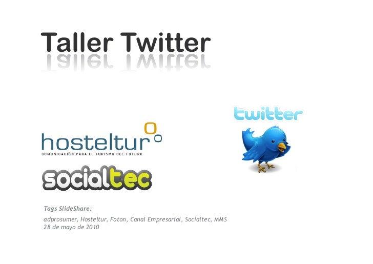Qué es twitter      1/6/10   DepartamentodeMarke2ng‐Socialtec   115