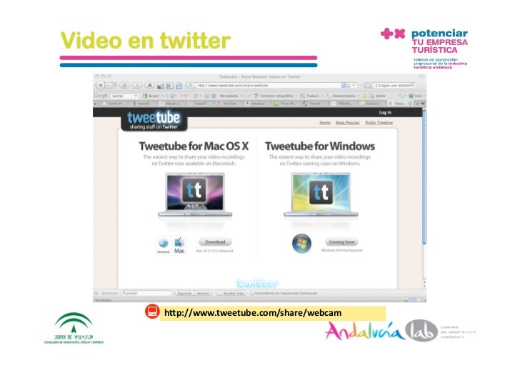 Fotos en twitter                  h1p://twitpic.com/   1/6/10   DepartamentodeMarke2ng‐Socialtec   118