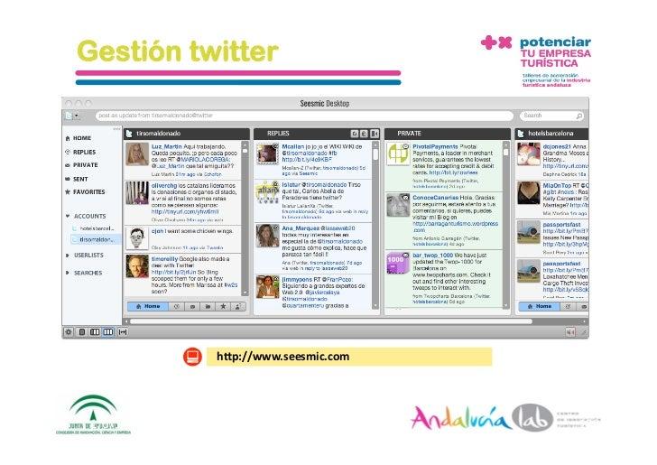 Búsquedas en twitter                         h_p://search.twi_er.com 1/6/10   DepartamentodeMarke2ng‐Socialtec   12...
