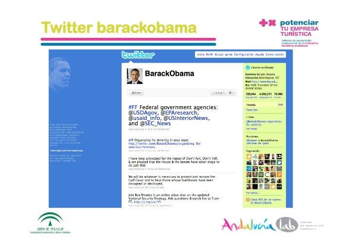 Taller en Facebook, YouTube y Twitter (Andalucía Lab)