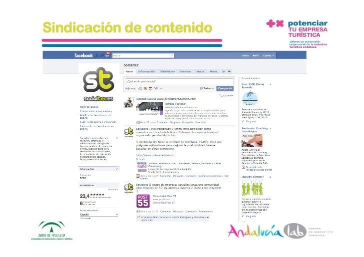 Sindicación de contenido      1/6/10   DepartamentodeMarke2ng‐Socialtec   25