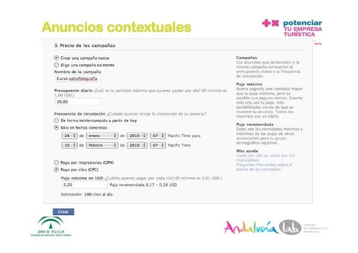Anuncios contextuales      1/6/10   DepartamentodeMarke2ng‐Socialtec   28