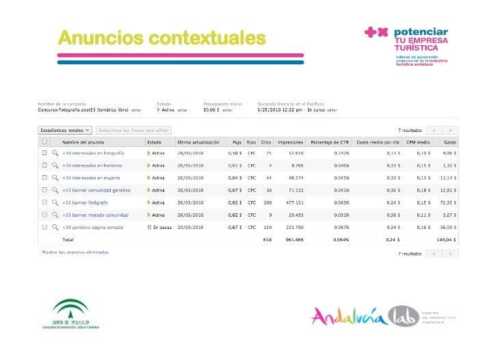 Anuncios contextuales      1/6/10   DepartamentodeMarke2ng‐Socialtec   29