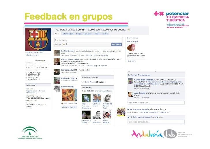 Feedback en grupos     1/6/10   DepartamentodeMarke2ng‐Socialtec   37