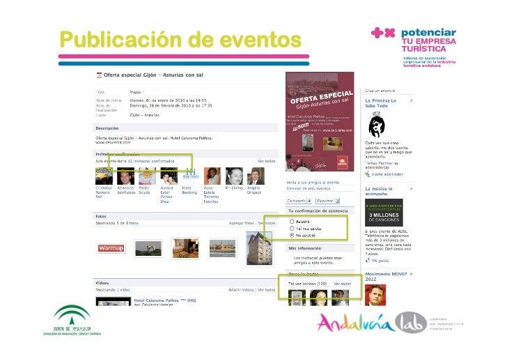 Publicación de eventos     1/6/10   DepartamentodeMarke2ng‐Socialtec   38