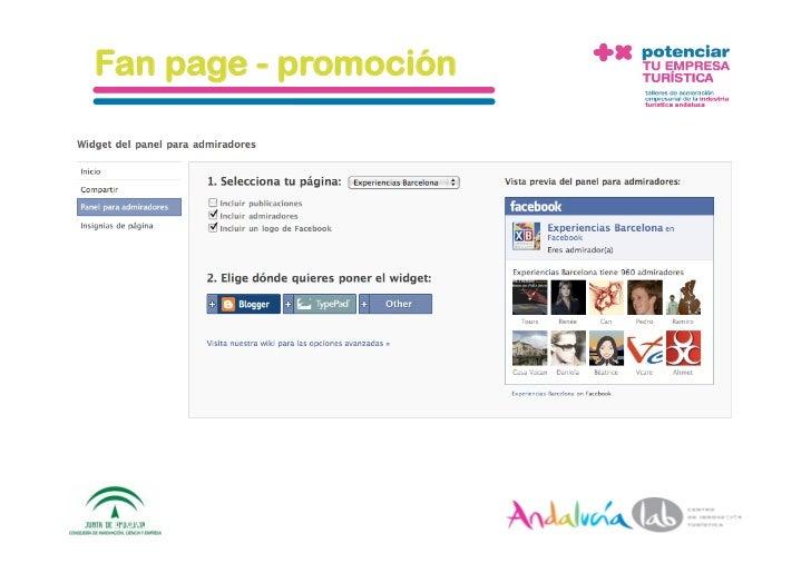 Fan page - promoción     1/6/10   DepartamentodeMarke2ng‐Socialtec   59