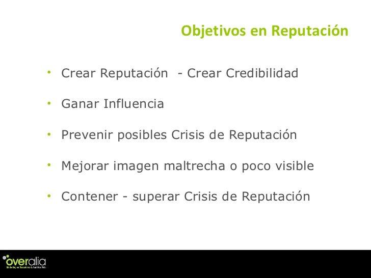 cómo se mide la reputación online Slide 3