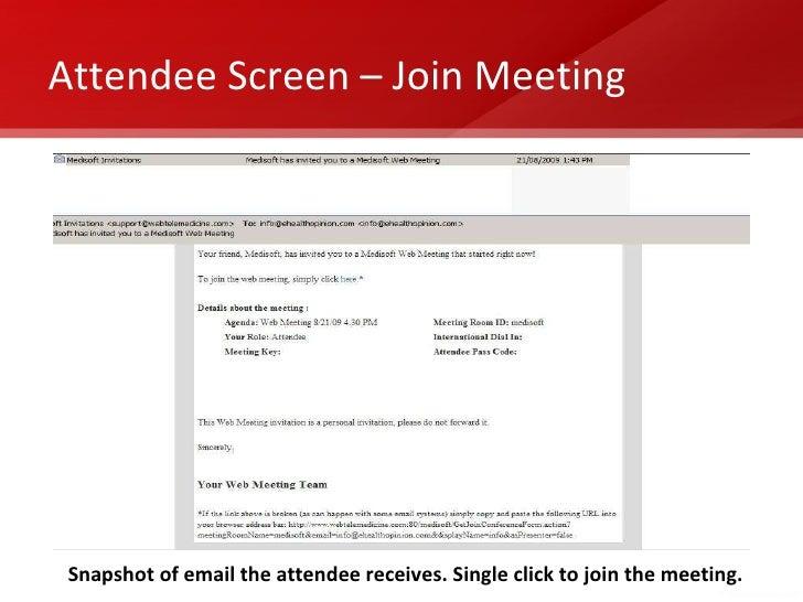 Host Screen Start Meeting 6