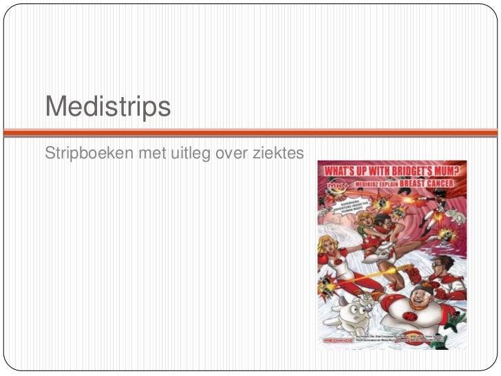 MedistripsStripboeken met uitleg over ziektes