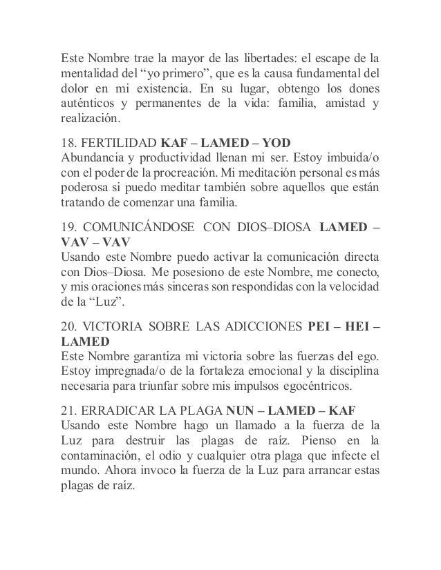CÓMO ORAR CON LOS SETENTA Y DOS NOMBRES DE DIOS (Spanish Edition)