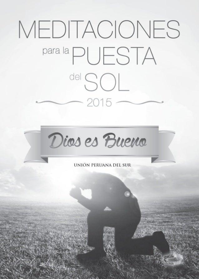 Ministerio de Mayordomía Cristiana De la División Sudamericana 1ª edición: 10140 ejemplares 2015 Coordinación Editorial: M...