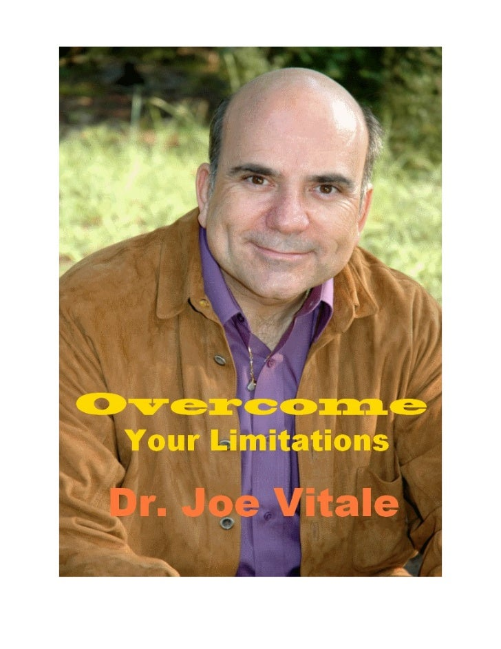 Maybe youve heard of Joe Vitale. Hes also known asMr. Fire and has many books to his credit. Ive read a few and found all ...