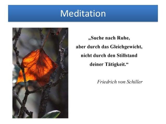 Zitate und Aphorismen zum Thema Meditation Slide 2