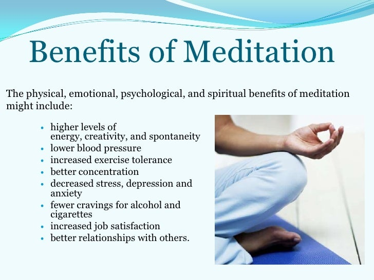 practice of insight meditation types uses and benefits Meditators and nonmeditators differ on demographic factors, health behaviors, health status, and health care access looking at exclusive use of one of the three types of meditation revealed the benefits, and applications of practice variations is important reference burke a, lam cn.