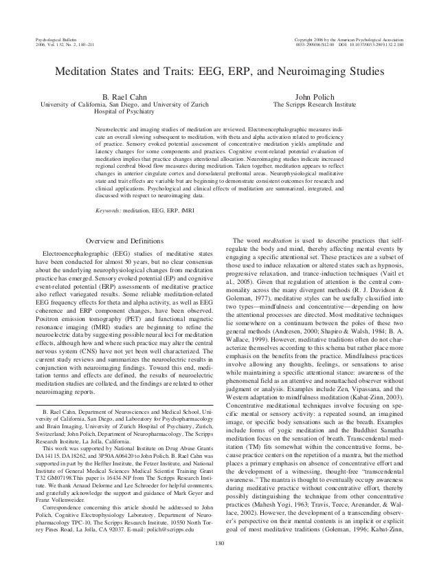 Psychological Bulletin 2006, Vol. 132, No. 2, 180 –211  Copyright 2006 by the American Psychological Association 0033-2909...