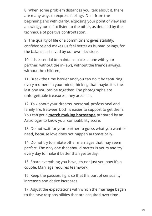 25 tips for a happynbsp marriage