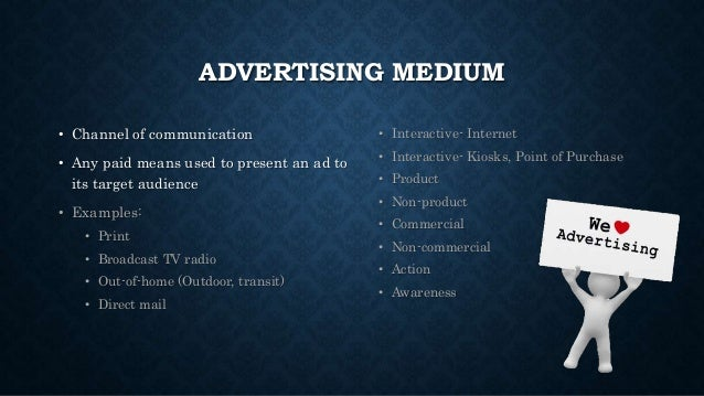 advertising form of communication Types of communication verbal communication: written communication & oral communication nonverbal communication, formal communication, informal communication.