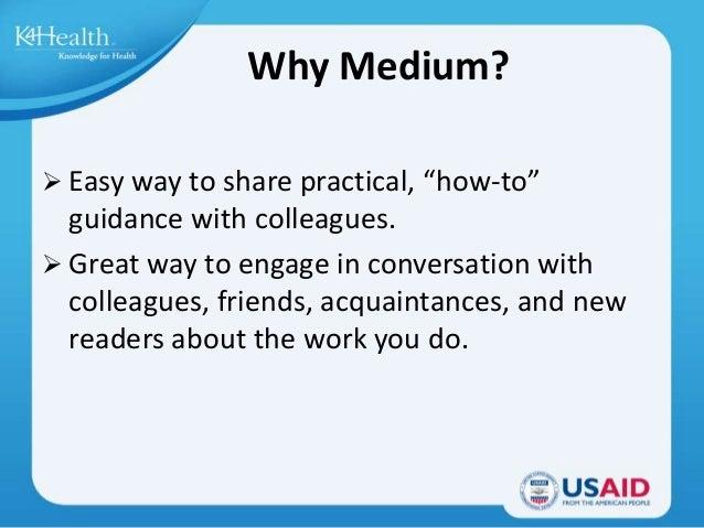 Show and Tell : Medium Slide 3