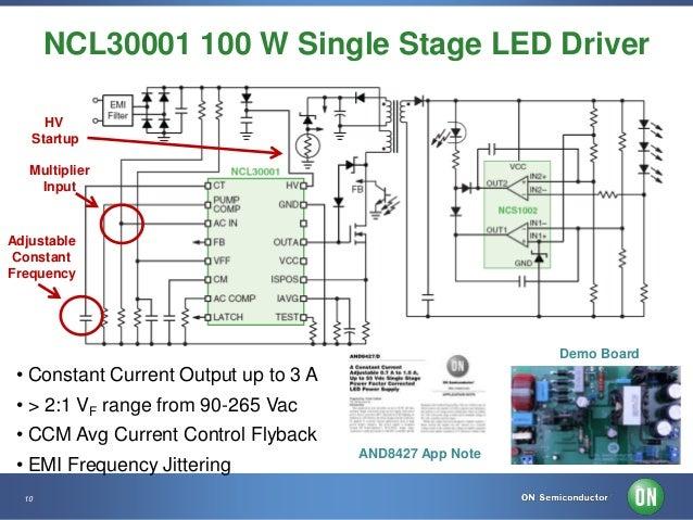 Medium & High Power LED Driver Solutions