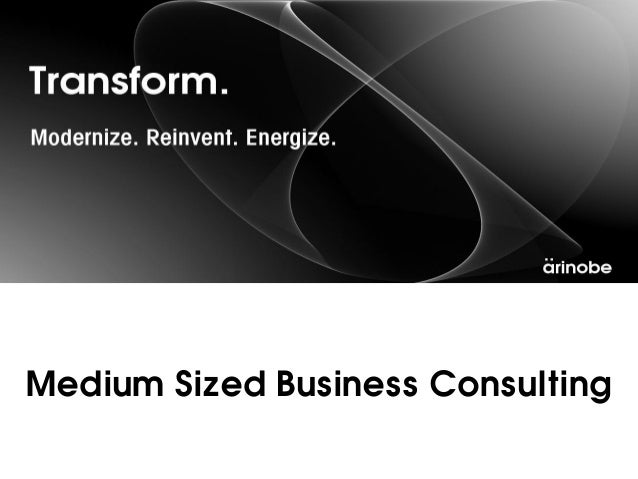 Medium Sized Business Consulting