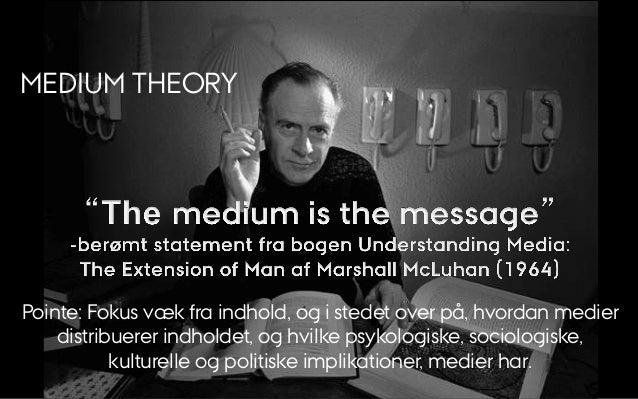 Medium Theory slides   KME14 Slide 3