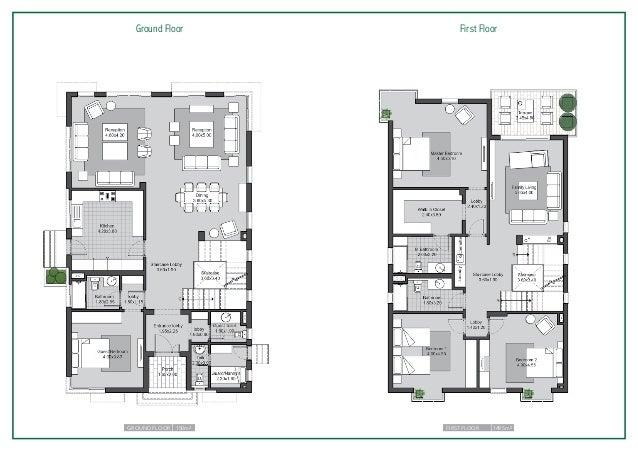 ... 13. Ground Floor First Floor Ground Floor 150m2 ...