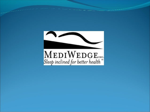 Sleep Inclined For Better Health! The MediWedge™ is a patented product design that uses positional therapy to reduce or mi...