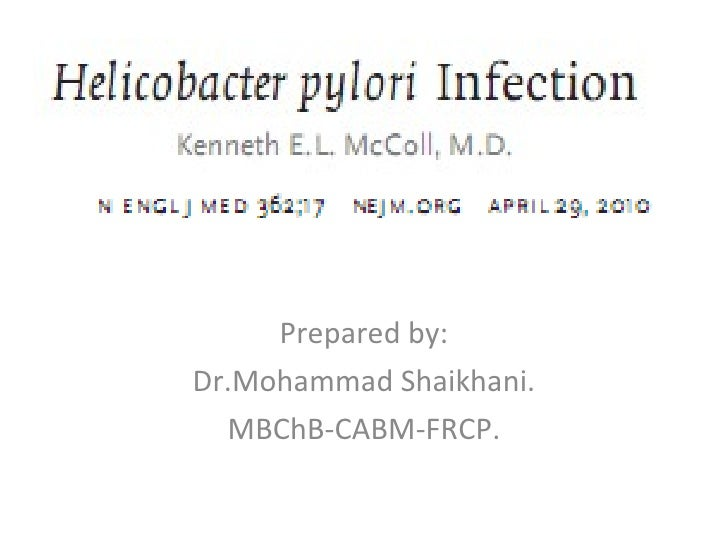 Prepared by: Dr.Mohammad Shaikhani. MBChB-CABM-FRCP.