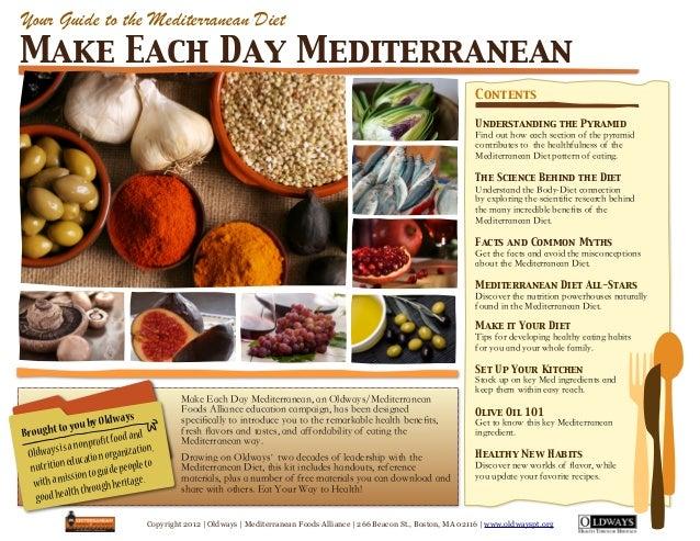 Copyright 2012 | Oldways | Mediterranean Foods Alliance | 266 Beacon St., Boston, MA 02116 | www.oldwayspt.orgUnderstandin...