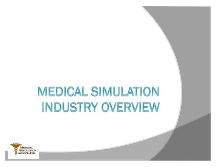 Bob HeinleinMedical Simulation Associates                 20 Jan 2012                     TechNet