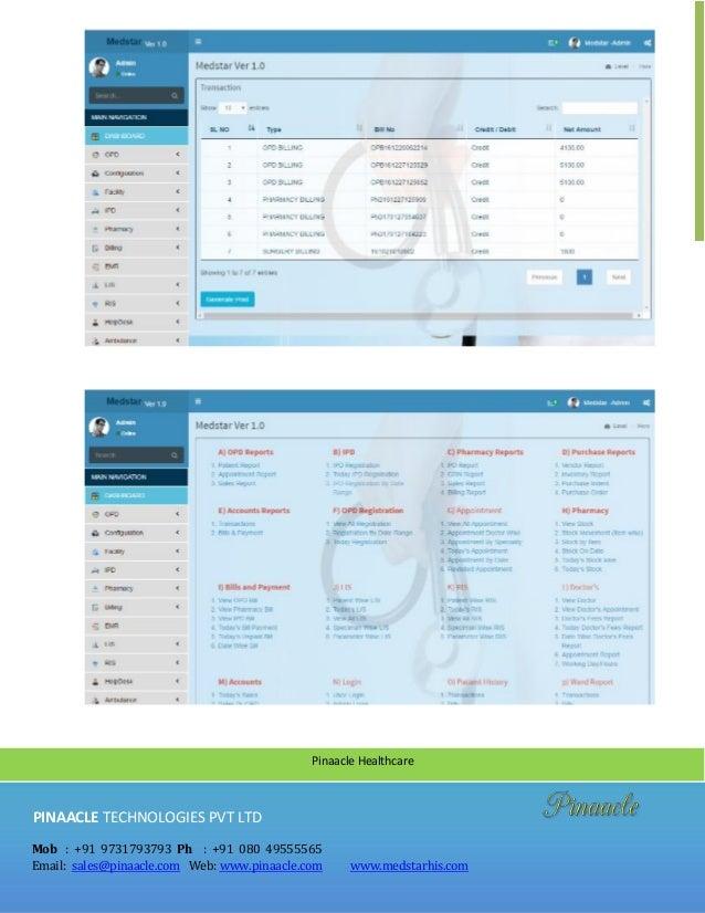 Top Hospital Management Software In India Medstar HIS