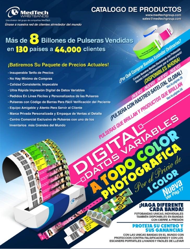 Medtech Catalogue - SPANISH
