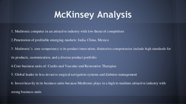Medtronic case ppt