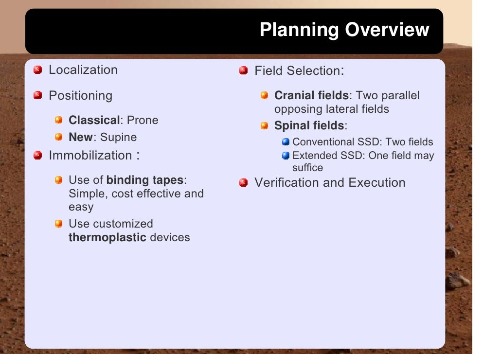 Planning Overview Localization                    Field Selection: Positioning                        Cranial fields: Two ...