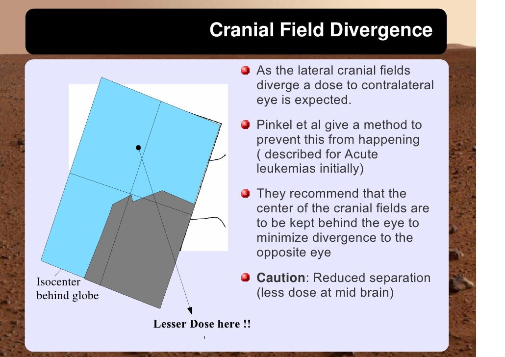 Cranial Field Divergence                                      As the lateral cranial fields                               ...