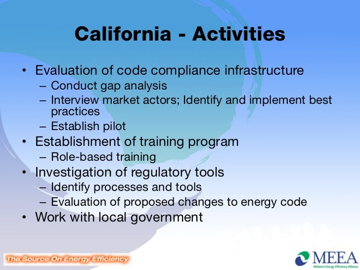 Building Details For Energy Code Compliance
