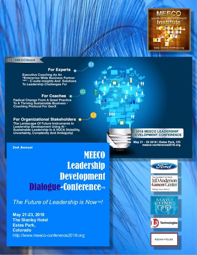 MEECO Leadership Developmnt Conference brochure