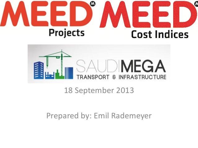 18 September 2013 Prepared by: Emil Rademeyer