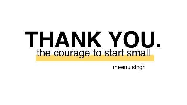Meenu Singh Innovation Explorer 2019