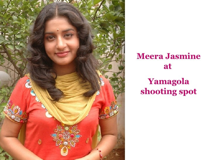 Meera Jasmine at  Yamagola shooting spot