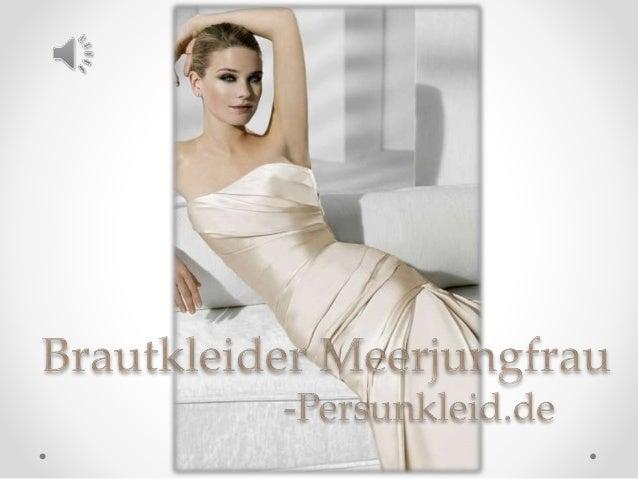Meerjungfrau brautkleider 2015 online billig kaufen