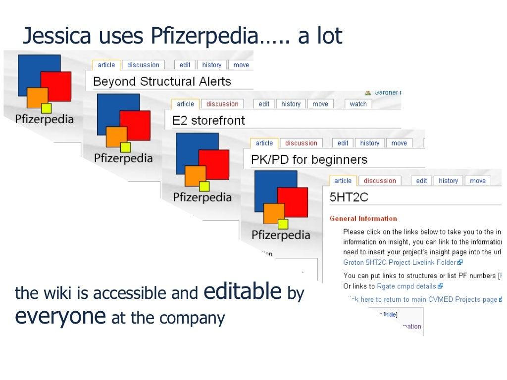 jessica uses pfizerpedia a lot
