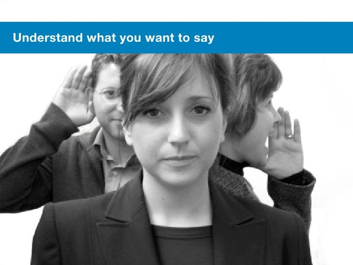 #meetcontent     Understand what you want to say46