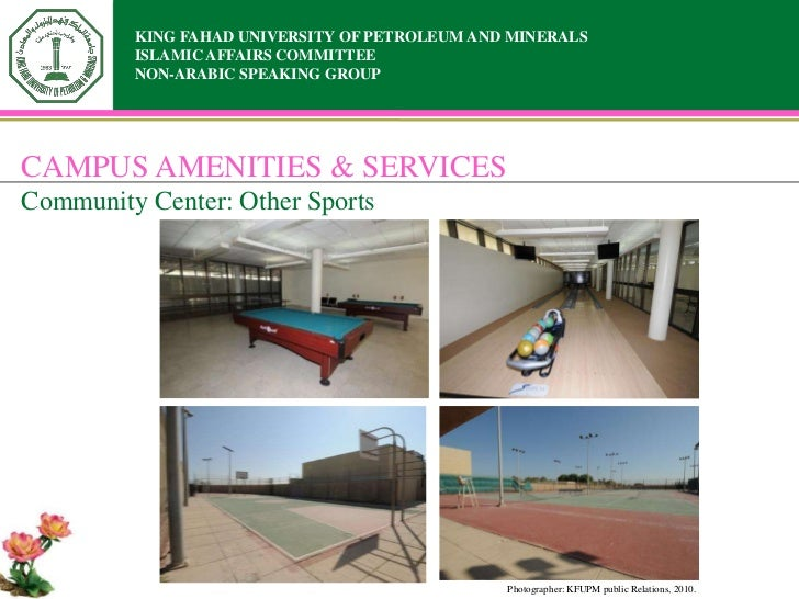 KING FAHAD UNIVERSITY OF PETROLEUM AND MINERALS         ISLAMIC AFFAIRS COMMITTEE         NON-ARABIC SPEAKING GROUPCAMPUS ...