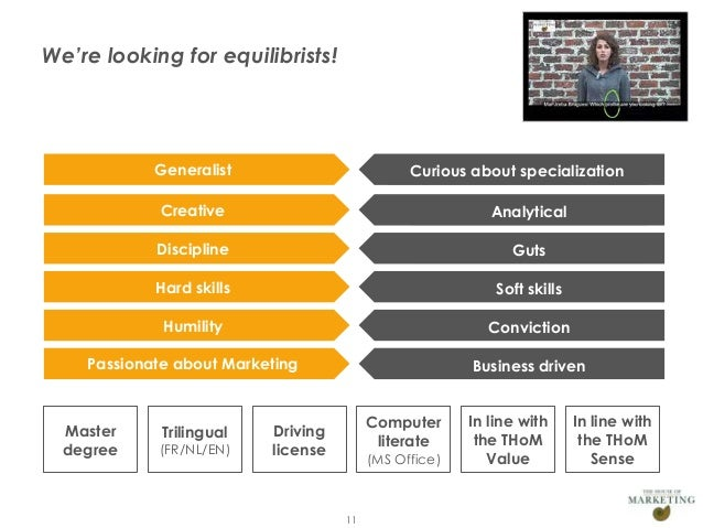 We're looking for equilibrists!                        Generalist                         Curious about specialization    ...
