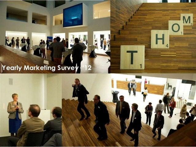 Yearly Marketing Survey '12Presentation1                 16